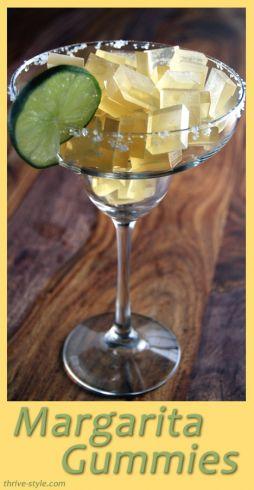 Margarita Gummies Recipe
