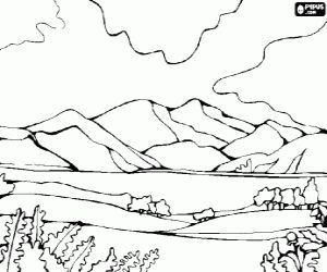 1000 images about landscapes on pinterest coloring coloring pages and natural