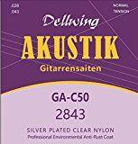 sparen25.de , sparen25.info#9: Dellwing Akustik-Gitarren-Saiten ★ Premium Gitarrensaiten für klassische Gitarre,…sparen25.com