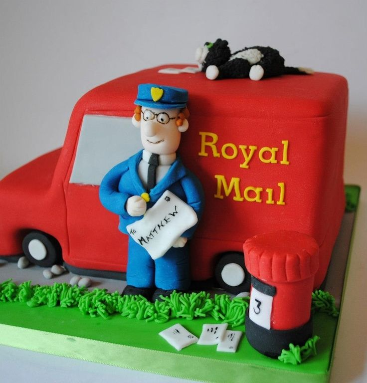 Postman Pat Van — Children's Birthday Cakes