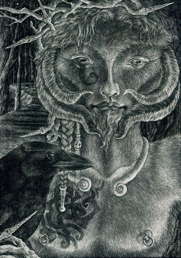The Horned God by ~sphinxmuse on deviantART