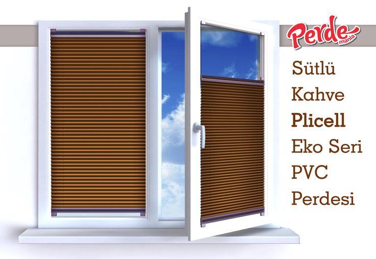 Plicell Markalı Cam Balkon ve PVC Perdesi  Eko seri olan cam balkon perdeleri düz renkleri içerir ve ışığı içeriye soft ve homojen dağıtan yapıdadır. Balkonlar için alternatifi olmayan bir perde türü olan plise perdeler katlanır cam balkonlar için özel üretilmiştir ve katlanmış görüntüsü ile balkon camlarınızda görsel bir şölen sunarken, alev almaz ve kir tutmaz kumaş özelliği ile büyük kolaylıklar sağlar.