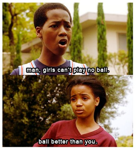 Love and Basketball.