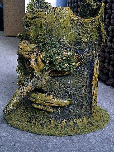 wargame scenery toilet paper diy trees | warhammer terrain ...