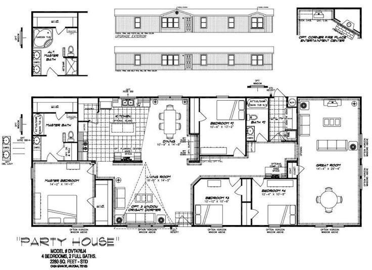 Home Floor Plans With Pictures | PALM HARBOR HOMES FLOOR PLANS | 1000 House  Plans