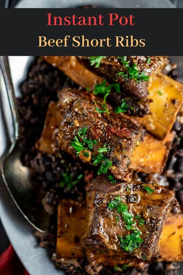 Instant Pot Beef Short Ribs Recipe Beef Short Ribs Short Ribs Recipes