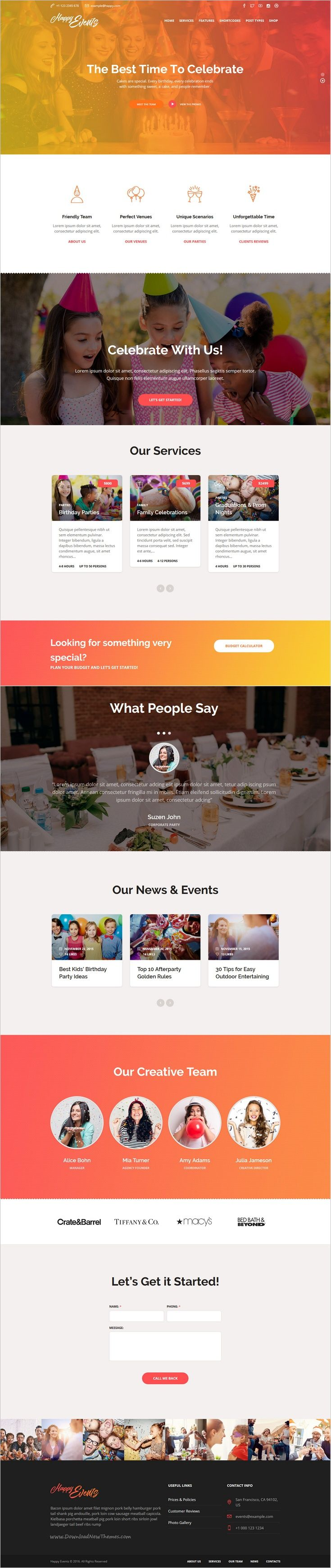 Happy Events is a fascinating #events responsive #WordPress theme for #webdev events #agency website, that can work as an events planner to manage holidays, special events and celebrations download now➩ https://themeforest.net/item/happy-events-holiday-event-agency-planner-events-wordpress-theme/18939852?ref=Datasata
