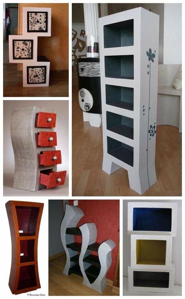 Cardboard Furniture Cardboard Crafts Cardboard Storage Cardboard
