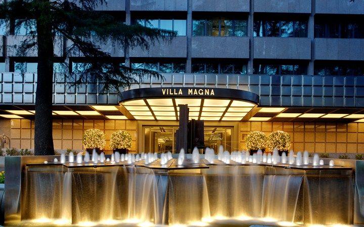 Hotel Villa Magna  Madrid  Spain                     Luxury Travel Hotels