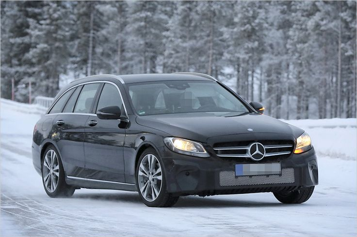 Caught: Mercedes C-Class as facelift - All About Automotive