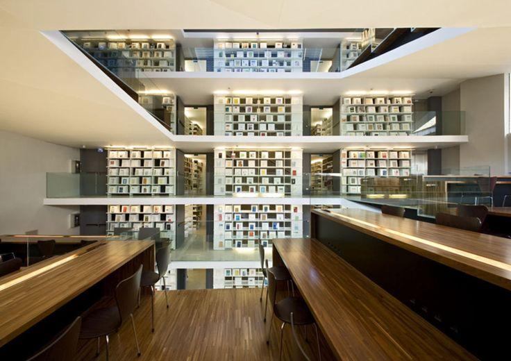 KING ROSELLI ARCHITETTI · Biblioteca Pio Ix. Roma · Divisare