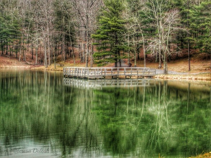 #DouthatStatePark Looking Out from the Dam 1 #Photograph #Virginia