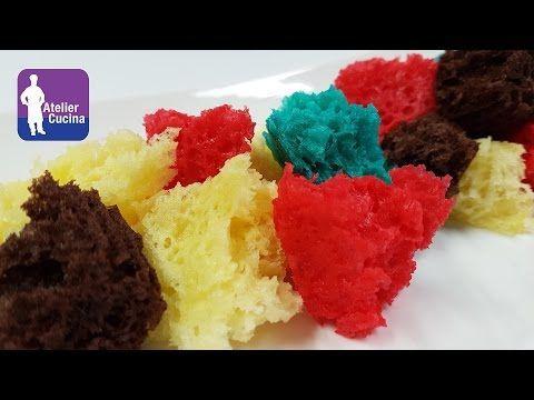 SPUGNA DOLCE AL MICROONDE RICETTA (tipo pan di spagna) - YouTube