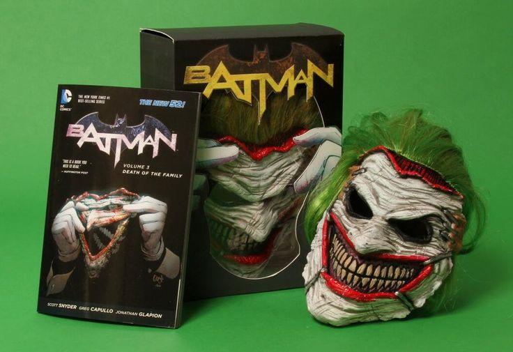 Batman Death of Family Joker Mask