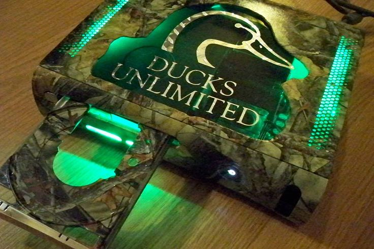Ducks Unlimited with Camouflage design custom Xbox 360 ...