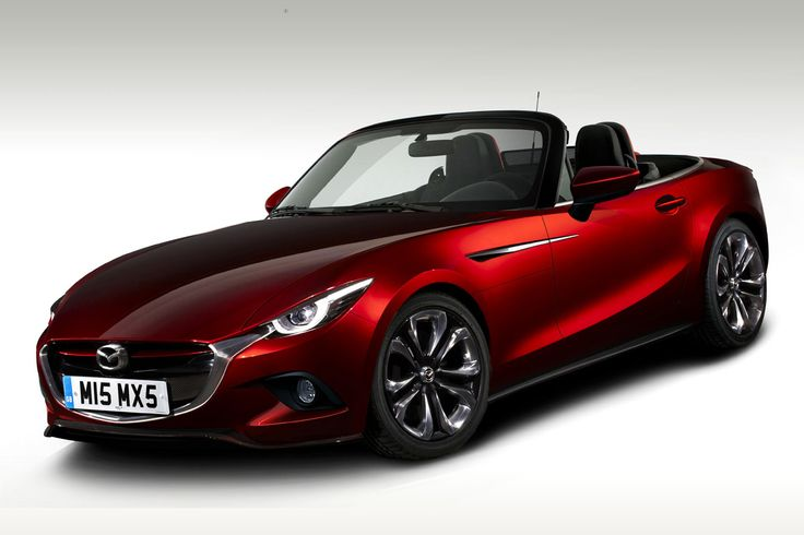 New 2015 Mazda MX-5 Concept. That's my future mid life crisis sorted then! Lol.