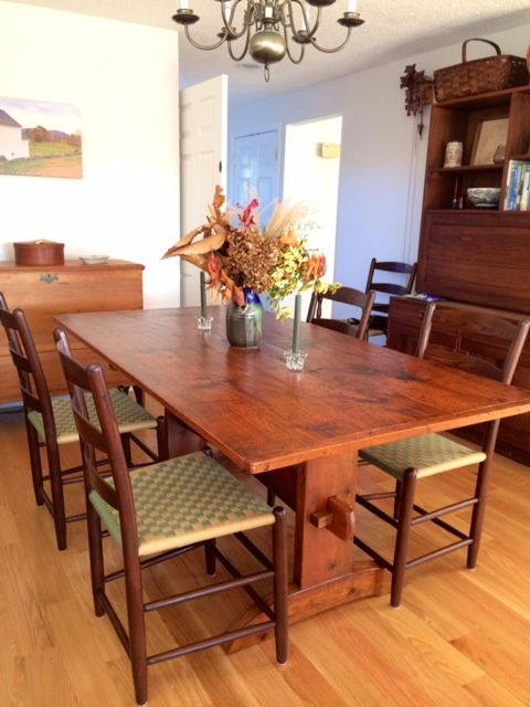 Made In Sandwich NH Since 1819 Tappan Chairs Bring Style Comfort And SandwichesDining TableDining