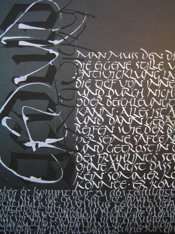 12. Oktober - Kalligraphie-Werkstatt