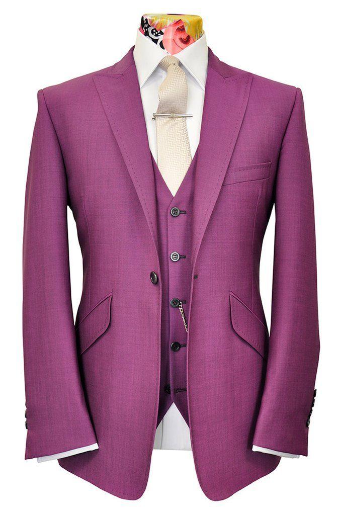 The Ashmore Raspberry Sorbet Suit