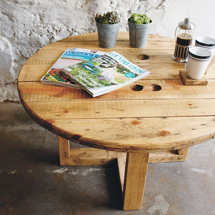 Johannesburg Coffee Table Modern Features: 17 Best Images About Cable Drums On Pinterest