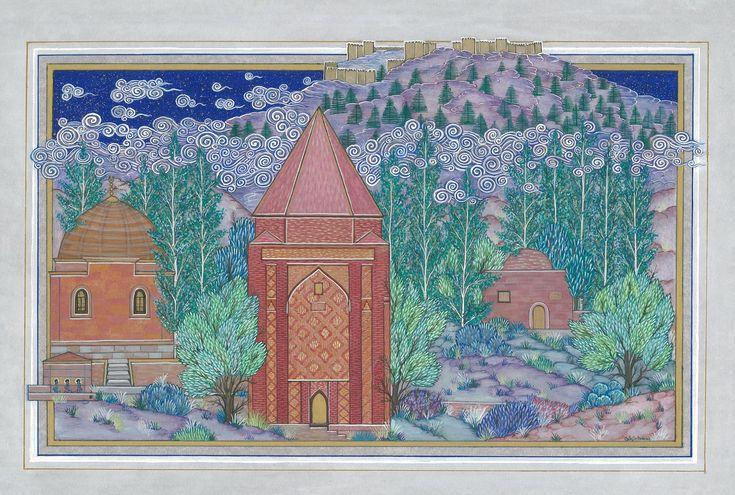 """Melikgazi Mausoleum"" by Gulcin Anmac."