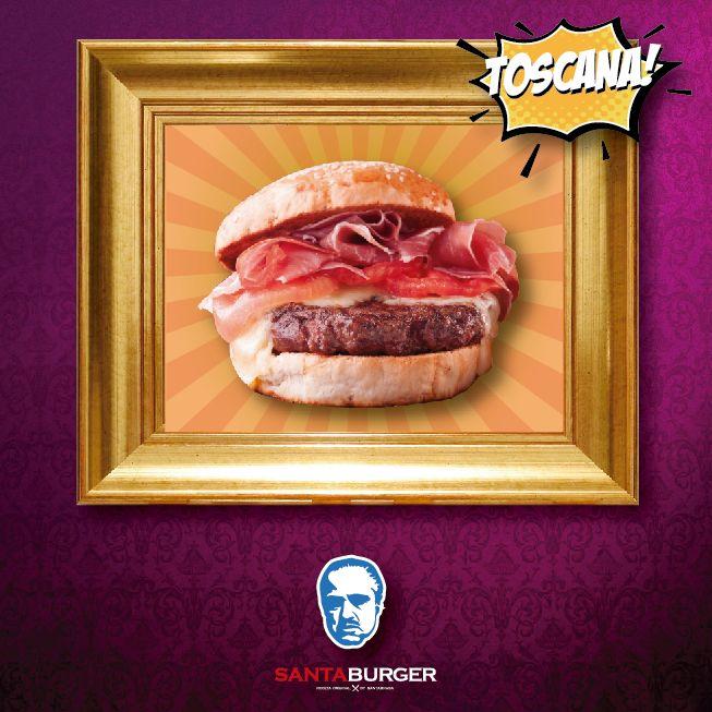 La mejor Burger #Toscana. No se porque pero luego de eso me sentí poderoso, como un verdadero líder! Capichi!! #EmpoderaciónBurger #Locosporlasburgers