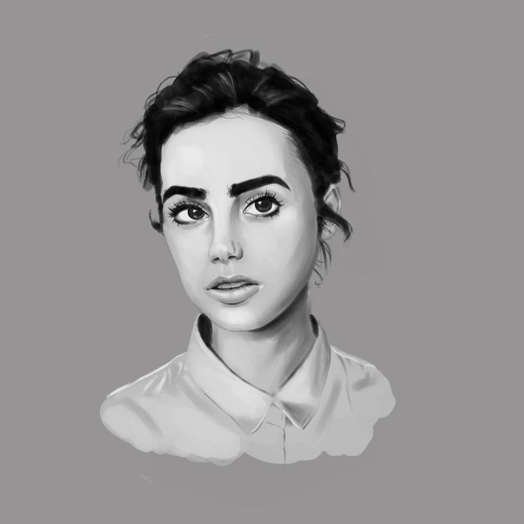 Tried out a grayscale/rendering painting. Let me know how I can improve! CC welcome. Thanks