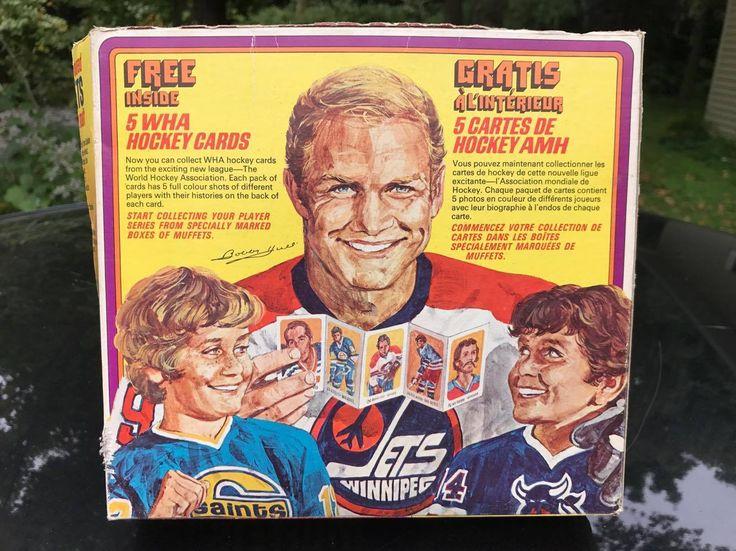 RARE 1970's WHA BOBBY HULL MUFFETS QUAKER CEREAL BOX HOCKEY CARD PREMIUM PROMO   eBay