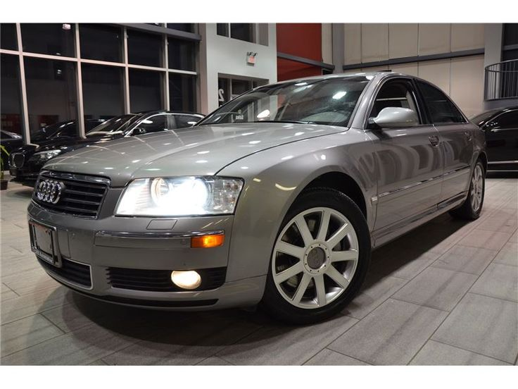 2005 Audi A8 4.2 Quattro With 150,027 km! – Oakville