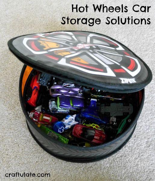 Hot Wheels Car Storage Solutions