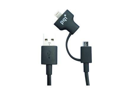 kabel micro USB / Lightning PQI i-Cable Du-Plug