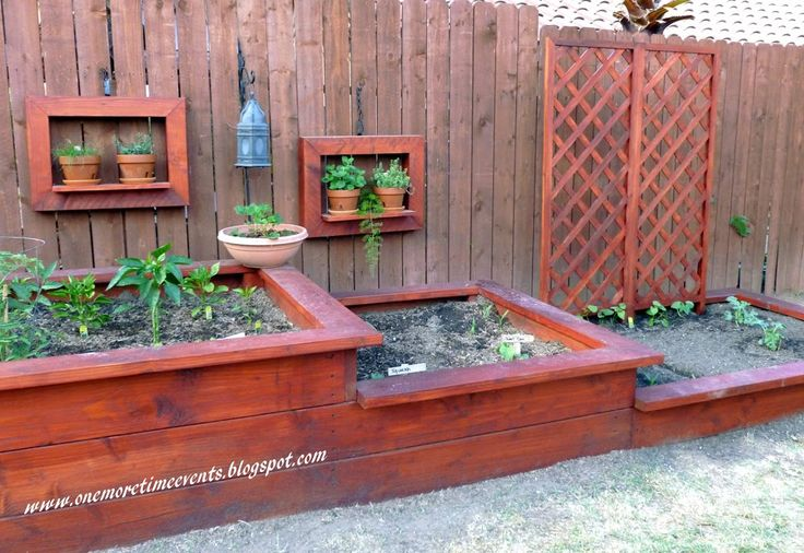 New Addition to Vegetable Bed - One More Time Events