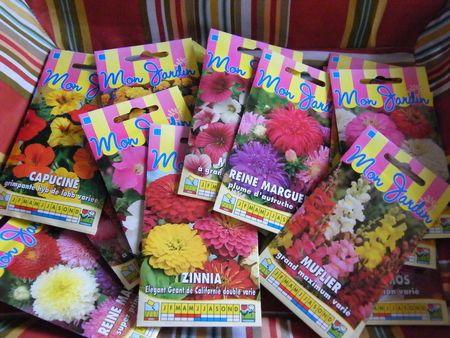 Semences de fleurs GRATUITES