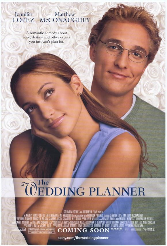 The Wedding Planner , starring Jennifer Lopez, Matthew McConaughey, Bridgette Wilson-Sampras, Justin Chambers. Mary Fiore is the wedding planner. She's ambitious, hard-working, extremely organized, and she knows... #Comedy #Romance