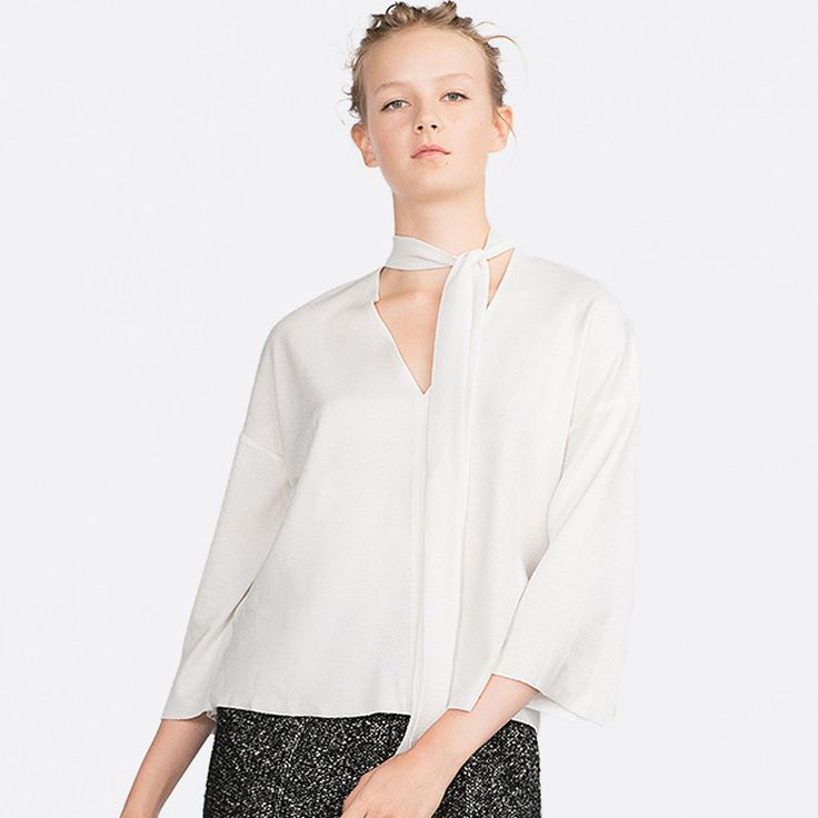 New arrival: Chicloth White V-... Don't Miss it out!  http://chicloth.com/products/chicloth-white-v-neck-blouse?utm_campaign=social_autopilot&utm_source=pin&utm_medium=pin