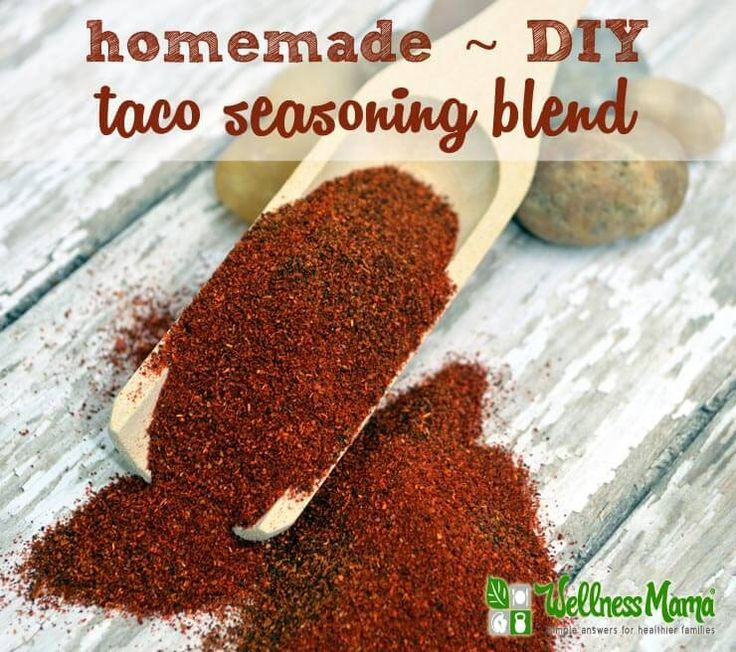 This homemade taco seasoning recipe with herbs and spices is inexpensive to make and takes the place of store bought seasoning packets with MSG.