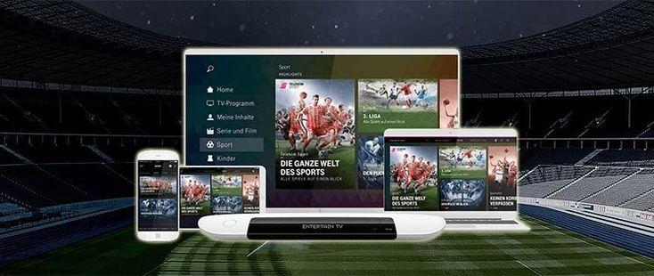 Anzeige // Die ganze Welt des Sports mit Telekom Sport und Sky Sport Kompakt'