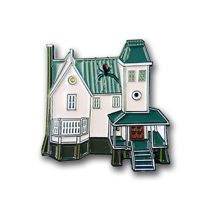 Beetlejuice House Pin by NERDPINS on Etsy https://www.etsy.com/listing/494456377/beetlejuice-house-pin