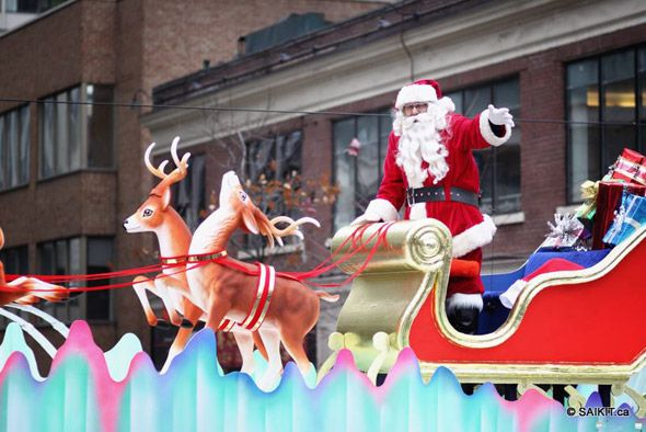 toronto santa claus parade 2009 - Google Search
