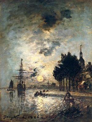 Clair De Lune  Johan Barthold Jongkind