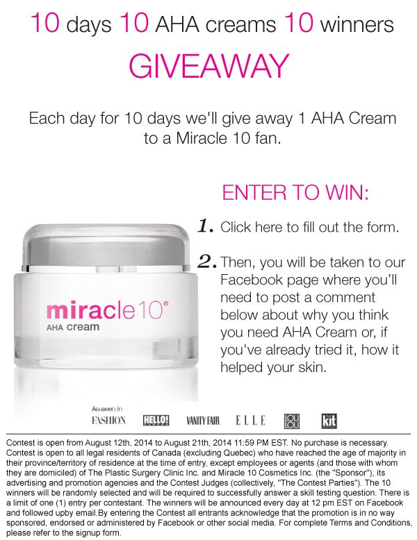 Contest Alert! Click on the image to get prompted to enter the contest. #canadiangiveaway