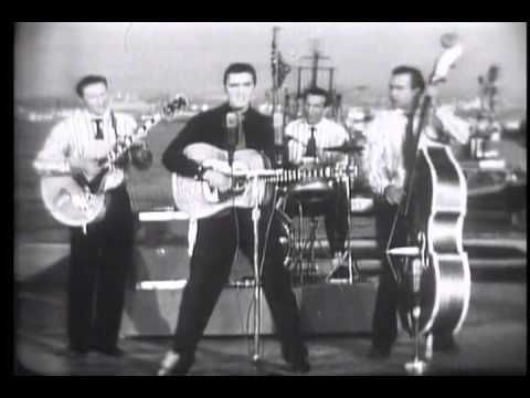 The Milton Berle Show (live on the USS Hancock, San Diego, California, April 3, 1956). Blue suede shoes (C. Perkins).