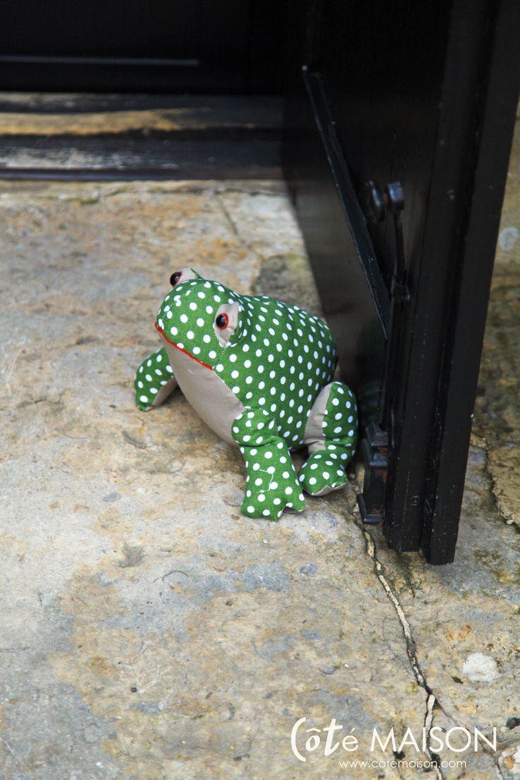 le cale porte grenouille home sweet home d coration pinterest deco. Black Bedroom Furniture Sets. Home Design Ideas