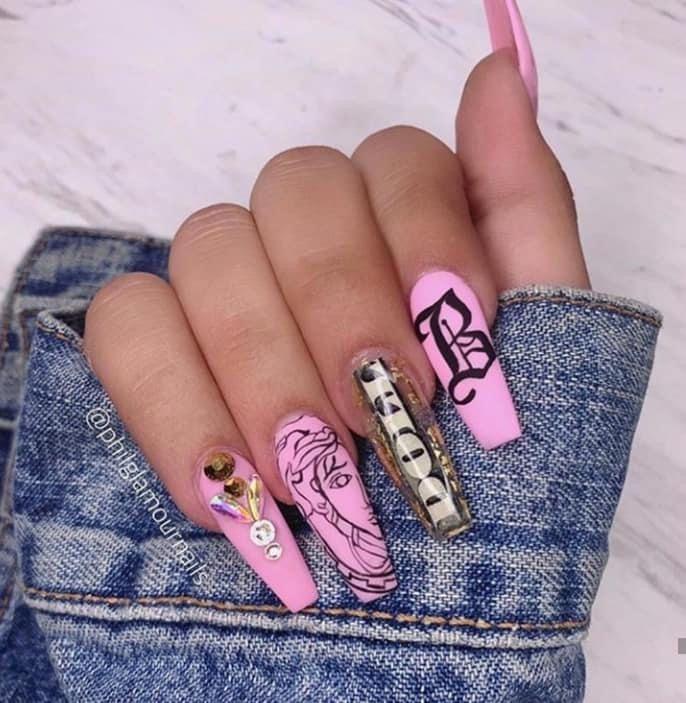 Pin by Estetic Jeydis on Diseños de uñas esculpidas