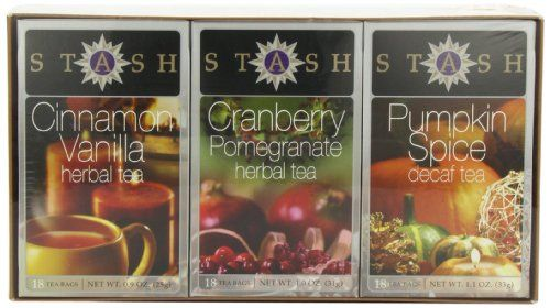 Stash Tea Company Autumn Teas Trio Gift Set - http://www.yourgourmetgifts.com/stash-tea-company-autumn-teas-trio-gift-set/