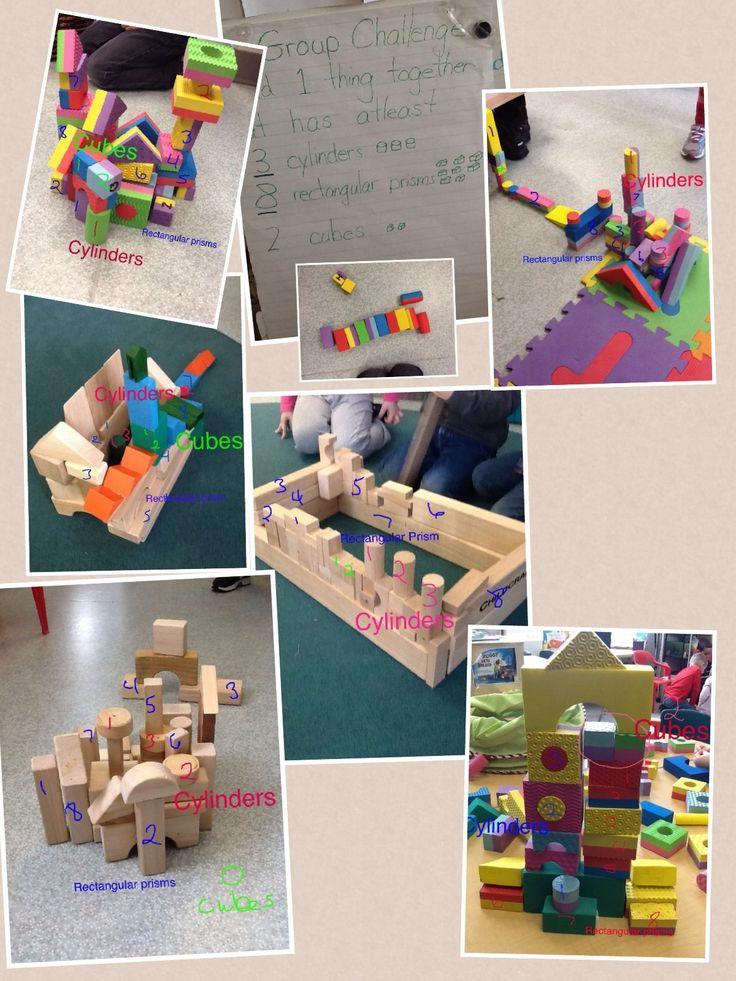 "Mrs. Harrison documents the building challenge ("",)"