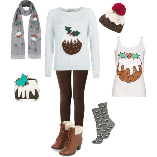 """Figgy Pudding"" by tizzy-potts on Polyvore"