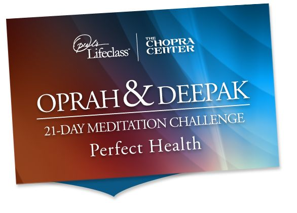 Deepak chopra 21 day meditation promo code