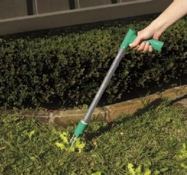 No bending required with this long handled weed puller for Gardening tools required