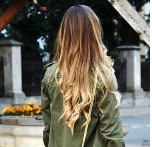 ombre hair not normally a big fan of ombr but this looks good